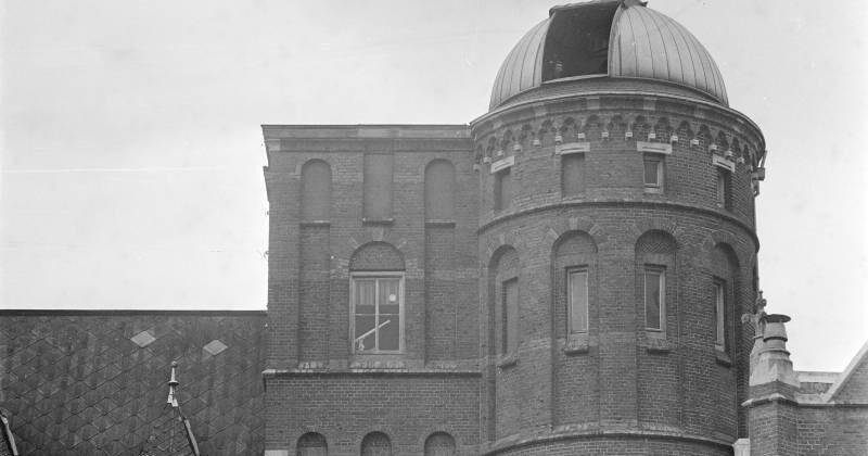 De koepel, foto uit 1969