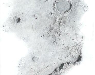 Archimedes-Timocharis-Eratosthenes (Pastelpotlood)