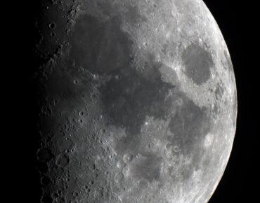 Maan geschoten door Jac Brosens op 15 februari 2016 ZWO