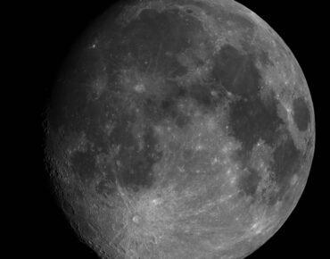 Mozaïek van de maan, genomen met de Intes DMK31